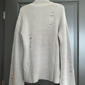 Tobi Distressed Sweater